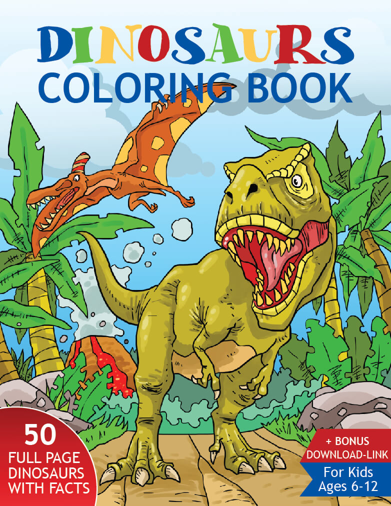 Dinosaur Coloring sheet Printable Coloring Pages | Etsy | 1012x782